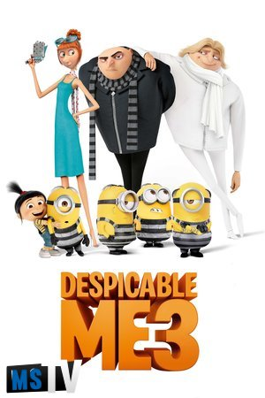 Despicable Me 3 2017 [BluRay / BDRip | HEVC / 720p / 1080p] Subtitulada