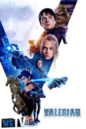 Valerian and the City of a Thousand Planets 2017 [BluRay / BDRip | x265 / 720p / 1080p] Subtitulada