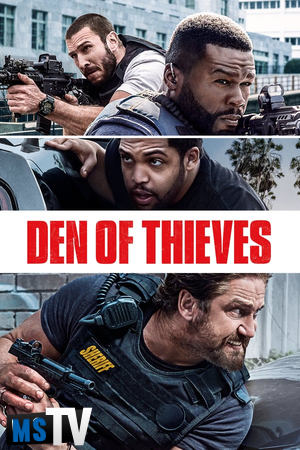 Den Of Thieves 2018 UNRATED [BluRay / BDRip | x265 / 720p / 1080p] Subtitulada