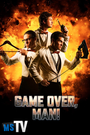 Game Over Man 2018 [WEBRip | x265 / 720p / 1080p] Subtitulada