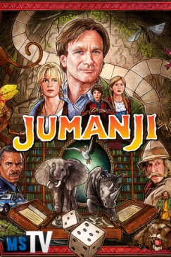 Jumanji 1995 REMASTERED [BluRay / BDRip | x265 / 720p / 1080p] Subtitulada