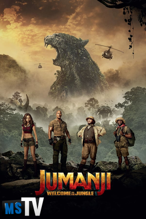 Jumanji Welcome To The Jungle 2017 [BluRay / BDRip | x265 / 720p / 1080p] Subtitulada